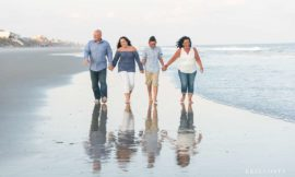 Family Pictures at Topsail | Flynn Family
