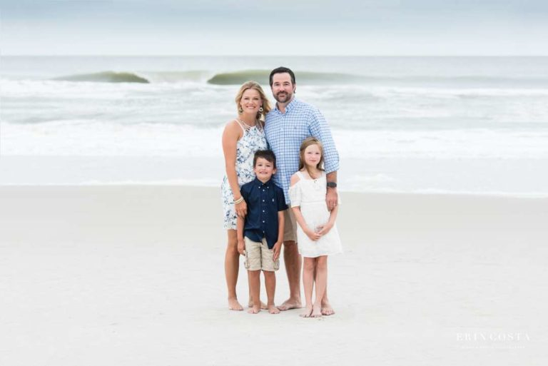 Family Portraits Topsail Beach | LeBeau Family