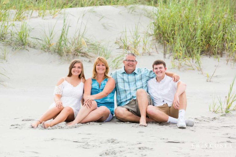 Topsail Beach Family Session | Dowdrick Family