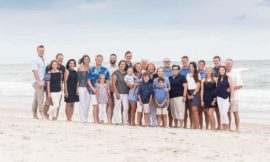 Topsail Beach Family Reunion Photographers | Austin Family