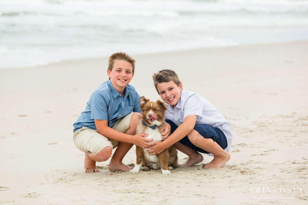 Topsail Beach Session | Frye Family